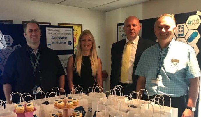 This year's East and North Hertfordshire NHS Trust AGM will look very different to the July 2019 event (pictured), as it is held virtually over five days for the first time.
