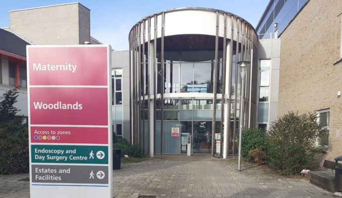 East and North Hertfordshire NHS Trust has changed its maternity visiting restrictions, including at Lister Hospital's Diamond Jubilee Maternity Unit - pictured